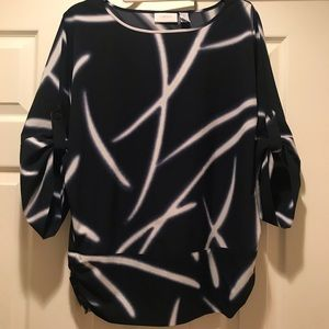Chicos Stylish Top Size 0 Like-New!